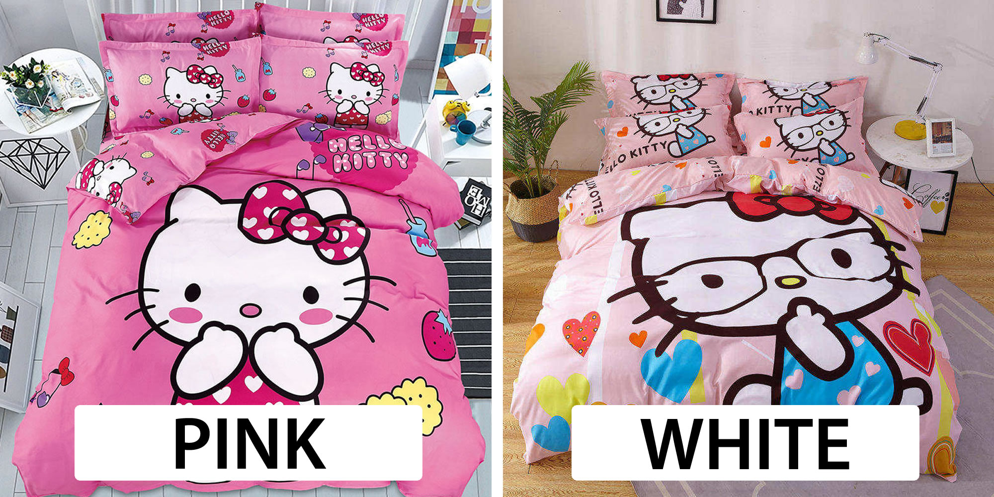 where to buy hello kitty bed linen online