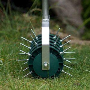 buy rolling lawn aerator 2