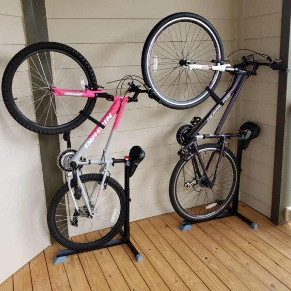 best upright bike rack