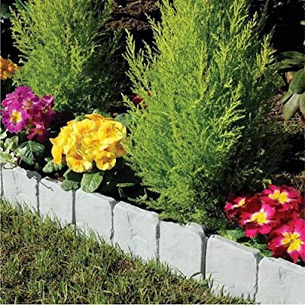 decorative plastic garden bed borders buy online